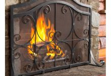 Photo of Where To Find A Fireplace Screen With Doors